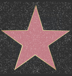 star with black background vector image