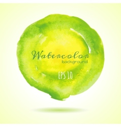 Designed abstract watercolor background design vector image