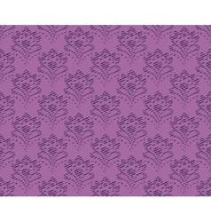 Lilac Vintage Seamless Texture vector image