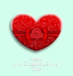 Celebration Background with Wishes for Valentines vector image vector image