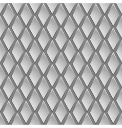 Seamless pattern in the form rhombus vector image vector image