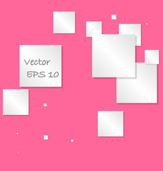 abstract square text box composition vector image