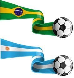 Brazil argentina vector