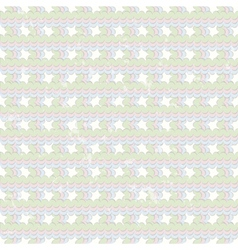 Grunge geometric pattern art vector image