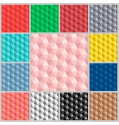 pattern Hexagon colorful vector image