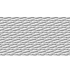 white wave texture 3d gray abstract pattern wavy vector image