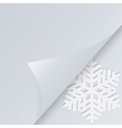 Winter holiday background with space for text vector image vector image