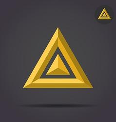 Delta letter sign vector image