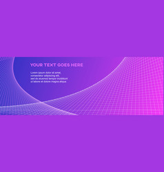 Horizontal layout banner background vector