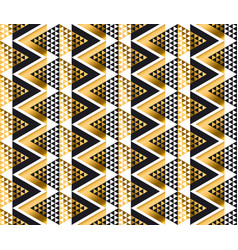 Modern geometry american indian tribal seamless vector