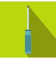 Screwdriver icon flat style vector