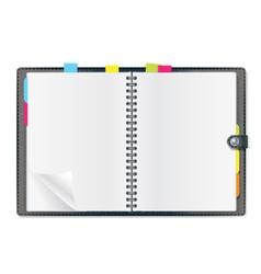 writing pad vector image