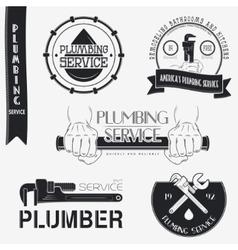 Plumbing service Home repairs Repair and vector image vector image
