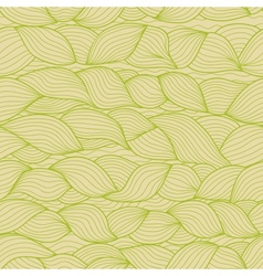 Abstract weaving doodle shapes seamless pattern in vector image