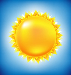 Sun With Sky vector image vector image