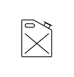 gasoline icon vector image vector image