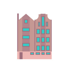 building city business office modern icon vector image