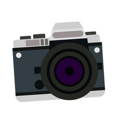 Camera photo picture travel equipment vector