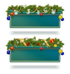 Christmas Billboard vector