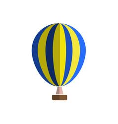 Hot air balloon icon cartoon of hot vector
