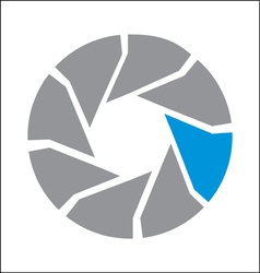 Iris logo vector