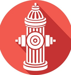 Open Fire Hydrant Icon vector
