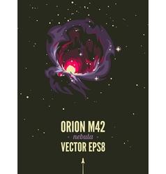 Orion nebula vector
