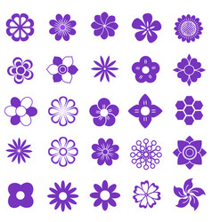 purlpe set vector image