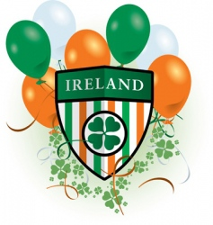 St Patrick's day celebration vector image vector image