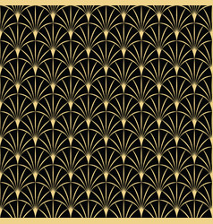 Abstract art deco vintage seamless pattern 02 vector