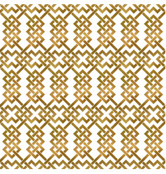 Abstract repeatable background golden twisted vector