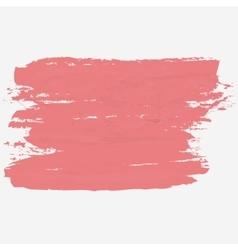 Brush strokes hand paint texture vector