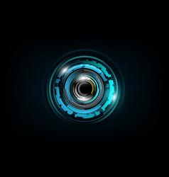 Futuristic sci fi technology pattern concept vector
