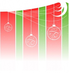 grunge Christmas background vector image