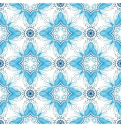 Luxury pattern with delicate elegant lines vector image