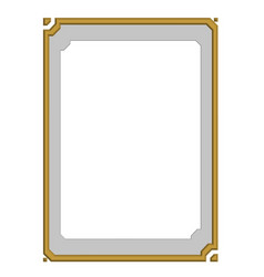 modern frame board vector image