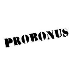 Probonus rubber stamp vector