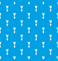 Safety belt pattern seamless blue vector