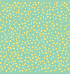 seamless pattern randomly disposed hearts vector image