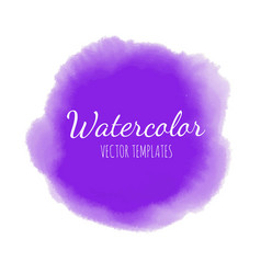 set of watercolor background 7 vector image