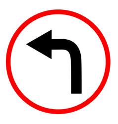 turn right sign on white background right vector image