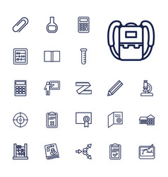 22 education icons vector