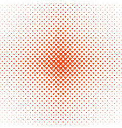 Abstract halftone heart pattern background - love vector