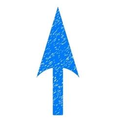 Arrow Axis Y Grainy Texture Icon vector