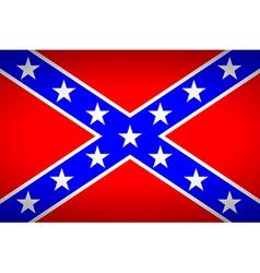 Confederate flag vector