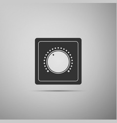 electric light switch icon on and off icon vector image