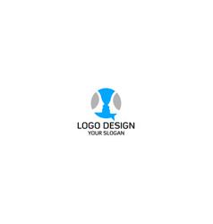 face to face talk logo design vector image