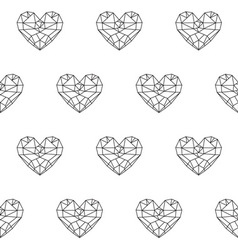 Heart patterno3 vector