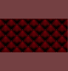 Royal red vintage leather upholstery leather vector