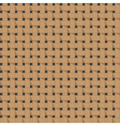 Weaving basket Seamless abstract pattern vector image